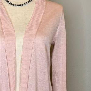 Pink Lightweight Sweater Wrap